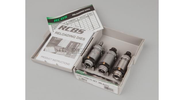 Матрицы RCBS для релоадинга револьверных и пистолетных патронов / Под .380 auto [мт-674]