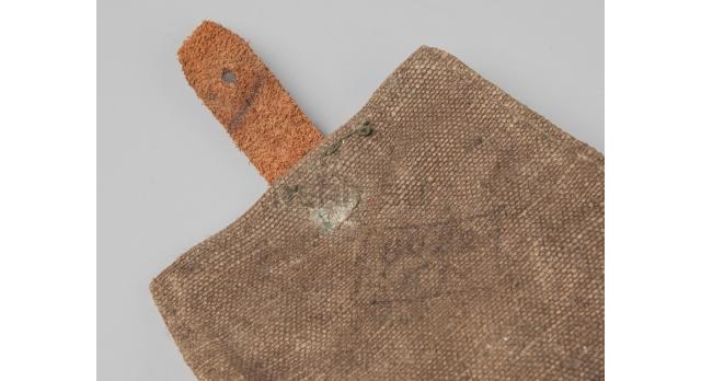 Подсумок для гранат Ф-1 / Оригинал 1940-е гг. ткань для 2-х гранат тёмный [сн-272]