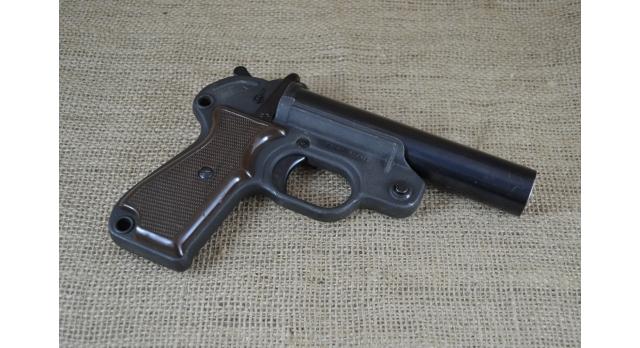 Сигнальный пистолет ракетница Геко (Geco)