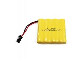 Аккумулятор Ni-Cd 400mAh, 4.8V, JST для Huina 1331, 1332