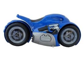 Радиоуправляемый мотоцикл-перевертыш ZhengGuang GT-ROVER 2.4G 1/12 RTR (синий) + Ni-Cd и З/У 1