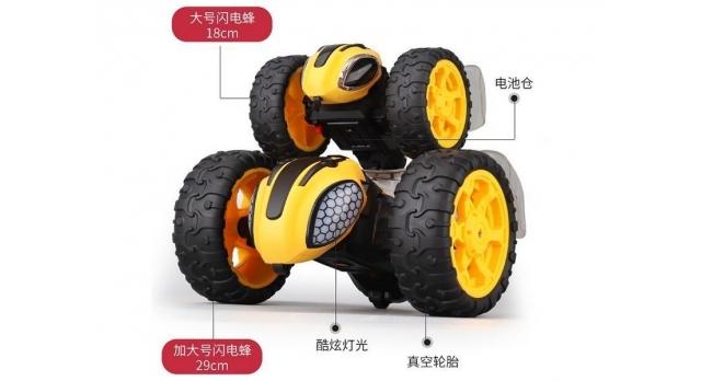 Радиоуправляемая машинка-перевертыш ZhengGuang Lightning Bee 2.4G 1/14 RTR + Ni-Cd и З/У 2