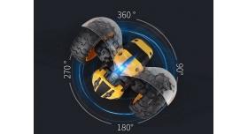 Радиоуправляемая машинка-перевертыш ZhengGuang Lightning Bee 2.4G 1/14 RTR + Ni-Cd и З/У 6