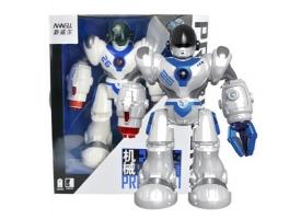 ИК робот AMWELL 7088 Robocop, звук, свет, танцы, сенсор, стреляет снарядами