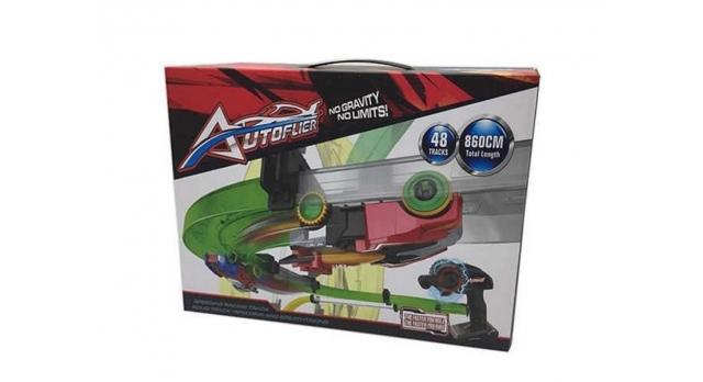 ИК трек гоночный  AUTOFLIER AF665, 48 деталей, 8.6 м, 2 машинки, 2 пульта 4