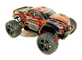 Радиоуправляемый монстр Remo Hobby SMAX UPGRADE (синий) 4WD 2.4G 1/16 RTR