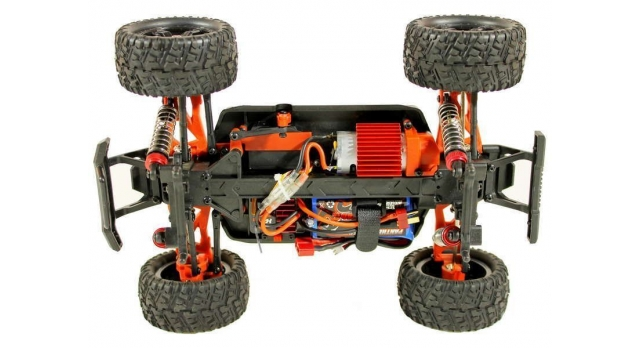 Радиоуправляемый монстр Remo Hobby SMAX UPGRADE 4WD 2.4G 1/16 RTR 11