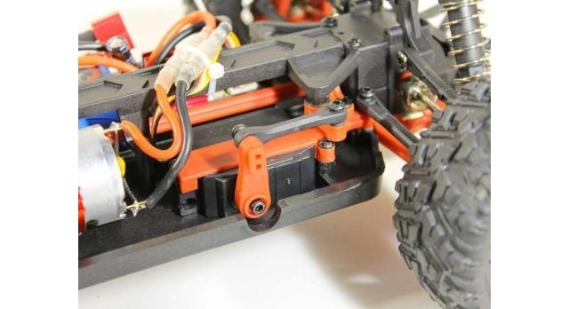 Радиоуправляемый монстр Remo Hobby SMAX UPGRADE 4WD 2.4G 1/16 RTR 17