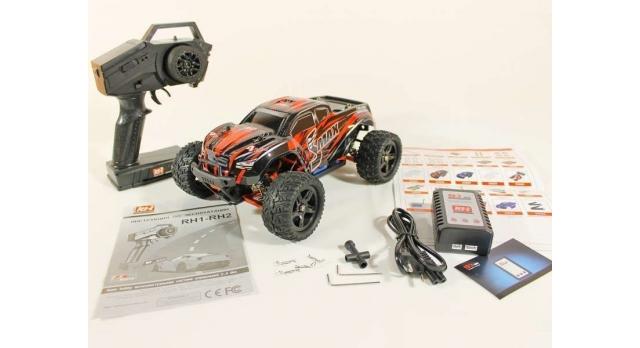 Радиоуправляемый монстр Remo Hobby SMAX UPGRADE 4WD 2.4G 1/16 RTR 22