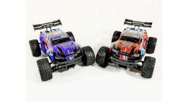 Радиоуправляемая трагги Remo Hobby S EVO-R 4WD 2.4G 1/16 RTR 17