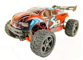 Радиоуправляемая трагги Remo Hobby S EVO-R UPGRADE (синяя) 4WD 2.4G 1/16 RTR