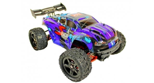 Радиоуправляемая трагги Remo Hobby S EVO-R UPGRADE 4WD 2.4G 1/16 RTR 7