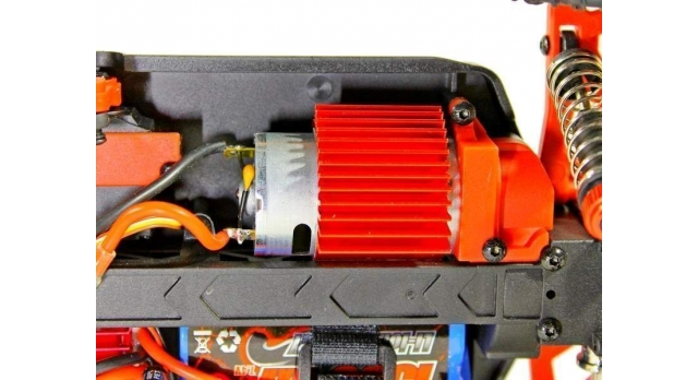 Радиоуправляемая трагги Remo Hobby S EVO-R UPGRADE 4WD 2.4G 1/16 RTR 17