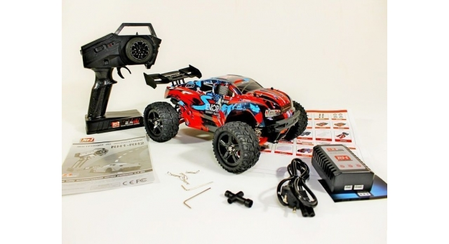 Радиоуправляемая трагги Remo Hobby S EVO-R UPGRADE 4WD 2.4G 1/16 RTR 29