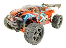 Радиоуправляемая трагги Remo Hobby S EVO-R Brushless UPGRADE (синяя) 4WD 2.4G 1/16 RTR