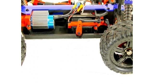 Радиоуправляемая трагги Remo Hobby S EVO-R Brushless UPGRADE 4WD 2.4G 1/16 RTR 12