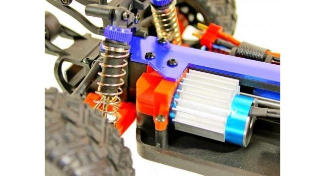 Радиоуправляемая трагги Remo Hobby S EVO-R Brushless UPGRADE 4WD 2.4G 1/16 RTR 13