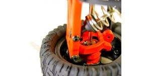 Радиоуправляемая трагги Remo Hobby S EVO-R Brushless UPGRADE 4WD 2.4G 1/16 RTR 18