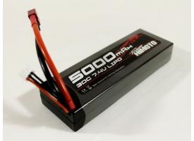 Аккумулятор Li-Po Himoto 5000mAh, 7,4V, 30C, T‐plug