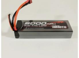 Аккумулятор Li-Po Himoto 5000mAh, 7,4V, 30C, T‐plug 1