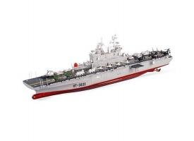 Радиоуправляемый корабль Heng Tai десантный корабль Wasp  2.4G 1/350