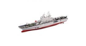 Радиоуправляемый корабль Heng Tai десантный корабль Wasp  2.4G 1/350 1