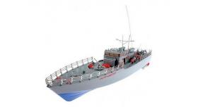Радиоуправляемый корабль Heng Tai торпедный катер 2.4G 1/115 1