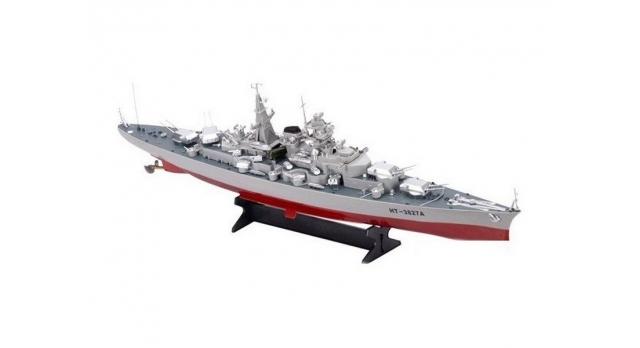 Радиоуправляемый корабль Heng Tai линкор Бисмарк 2.4G 1/360 1