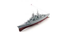 Радиоуправляемый корабль Heng Tai линкор Бисмарк 2.4G 1/360 2
