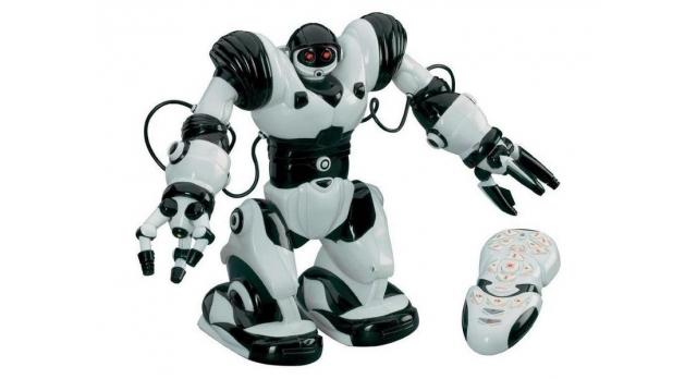 ИК робот JAKI Roboactor, звук, свет, танцы 4