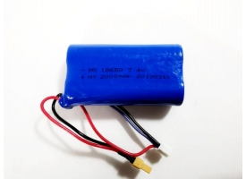Аккумулятор Li-Po 2000mAh, 7.4V JST для Huina 1580, 1583 1