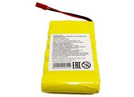 Аккумулятор Ni-Cd 400mAh, 7.2V JST для Huina 1570, 1573, 1574 1