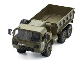 Радиоуправляемая машина Heng Long американский военный грузовик 6WD 2.4G 1/16 RTR 1
