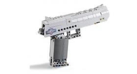 Конструктор CADA deTech пистолет Desert Falcon (307 деталей) 2