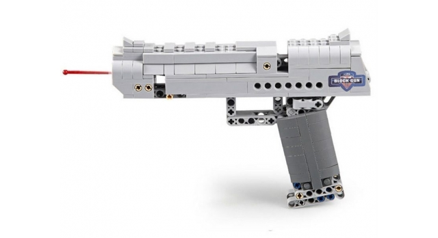 Конструктор CADA deTech пистолет Desert Falcon (307 деталей) 4