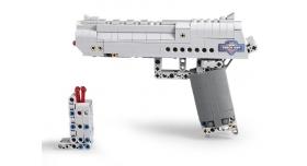 Конструктор CADA deTech пистолет Desert Falcon (307 деталей) 5