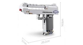 Конструктор CADA deTech пистолет Desert Falcon (307 деталей) 7