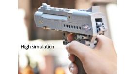Конструктор CADA deTech пистолет Desert Falcon (307 деталей) 8