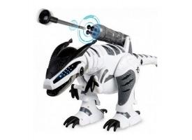 Радиоуправляемый робот-динозавр LENENG TOYS K9 Dinosaur звук, свет, танцы, сенсор, стреляет