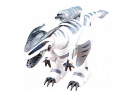 Радиоуправляемый робот-динозавр LENENG TOYS K9 Dinosaur звук, свет, танцы, сенсор, стреляет присосками 1