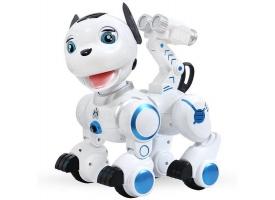 Радиоуправляемая робот-собака LENENG TOYS K10 Wow!Dog звук, свет, танцы, сенсор