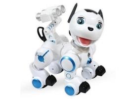 Радиоуправляемая робот-собака LENENG TOYS K10 Wow!Dog звук, свет, танцы, сенсор 1