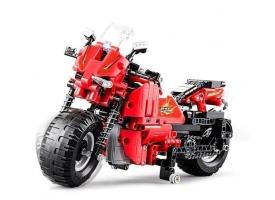 Радиоуправляемый конструктор CADA deTech гоночный мотоцикл (484 детали)