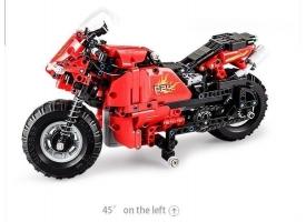 Радиоуправляемый конструктор CADA deTech гоночный мотоцикл (484 детали) 1