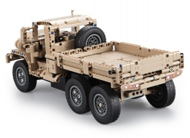 Радиоуправляемый конструктор CADA deTech военный грузовик (545 деталей) 1