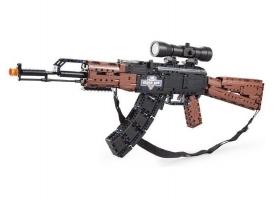 Конструктор CADA Hi-Tech AK47 (738 деталей)