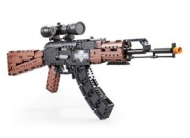 Конструктор CADA Hi-Tech AK47 (738 деталей) 1