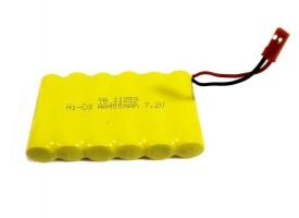 Аккумулятор Ni-Cd 400mAh, 7.2V, JST для Huina 1550