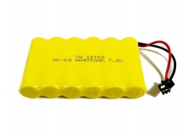 Аккумулятор Ni-Cd 400mAh, 7.2V, SM для Huina 1350