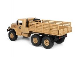 Радиоуправляемая машина WPL военный грузовик (песочный) 6WD 2.4G 1/16 RTR 1